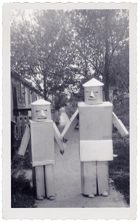 1950's Halloween Robots | by Neato Coolville