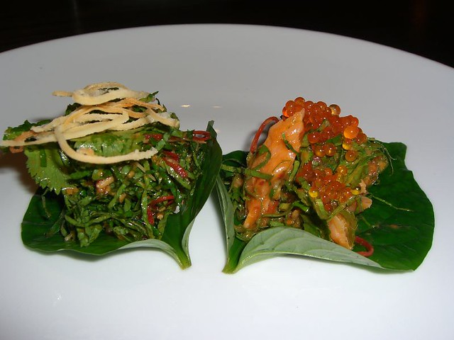 Betel Leaf Parcels - Longrain Melbourne by Alpha