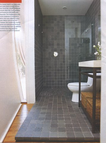 Slate Bathroom | kccramer | Flickr