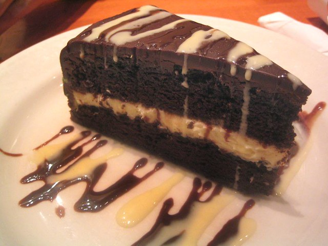 Cpk Chocolate Cake With Fudge
