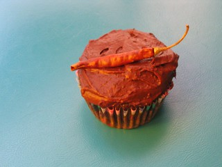 chocolate chili cupcake | by Rakka
