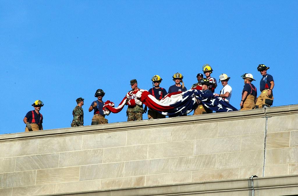 9 11 Arlington Va Sep 12 2001 Firefighters