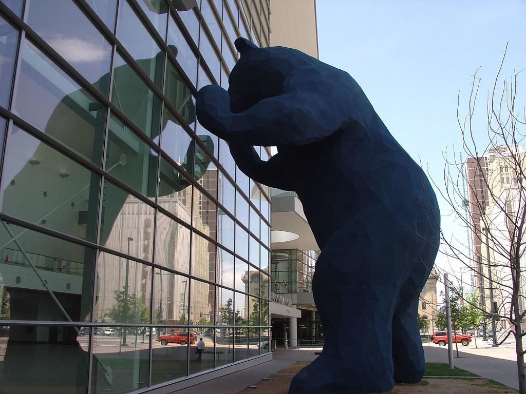 Big blue bear colorado convention center denver this for Craft show denver convention center