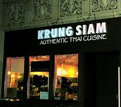Krung Thai Restaurant Racine Wi