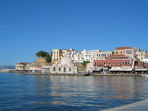 Chania on the island of Crete