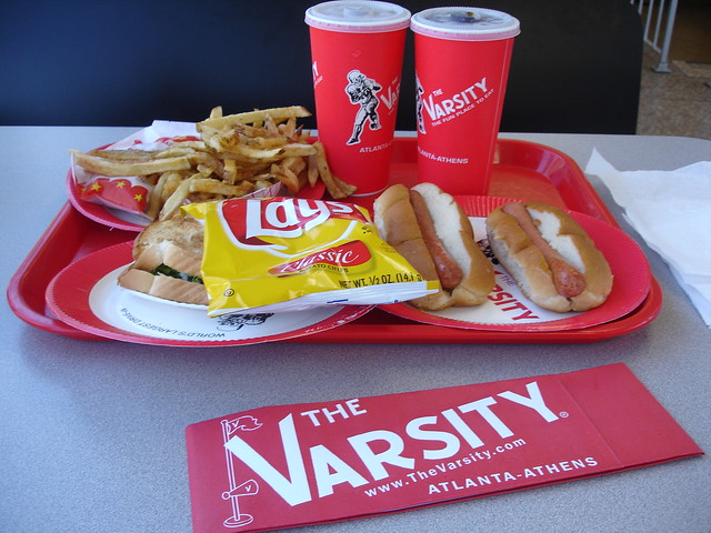 Lunch at The Varsity, Atlanta GA