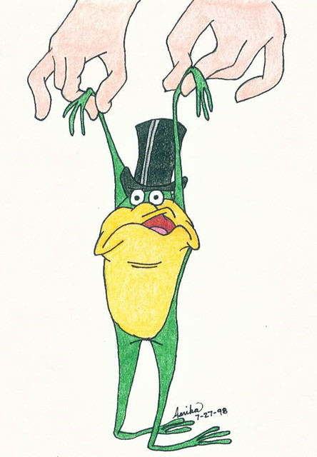 Michigan J Frog A Picture I Drew For My Father Back In