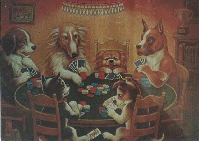 Poker Perros 2 The Stephens Family Flickr
