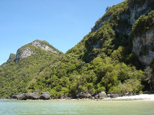 Ko Wua Talap  The hillsides surrouding the beach at Koh Wua…  Flickr
