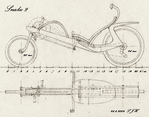 Plan for recumbent bike | A new plan for wooden recumbent cy ...