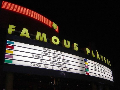 Famous players movie theatre calgary canada