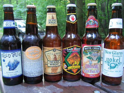 A sample of Wisconsin brews | by monica.shaw
