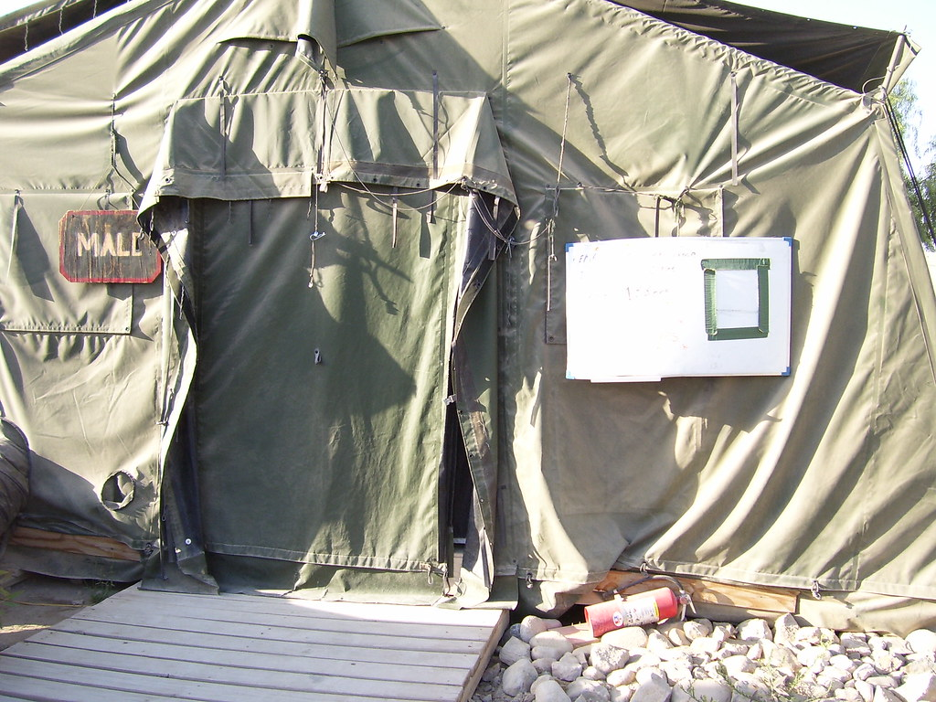 by violinsoldier Our coed Army shower tent - currently set to u0027Maleu0027. | by violinsoldier & Our coed Army shower tent - currently set to u0027Maleu0027. | Flickr