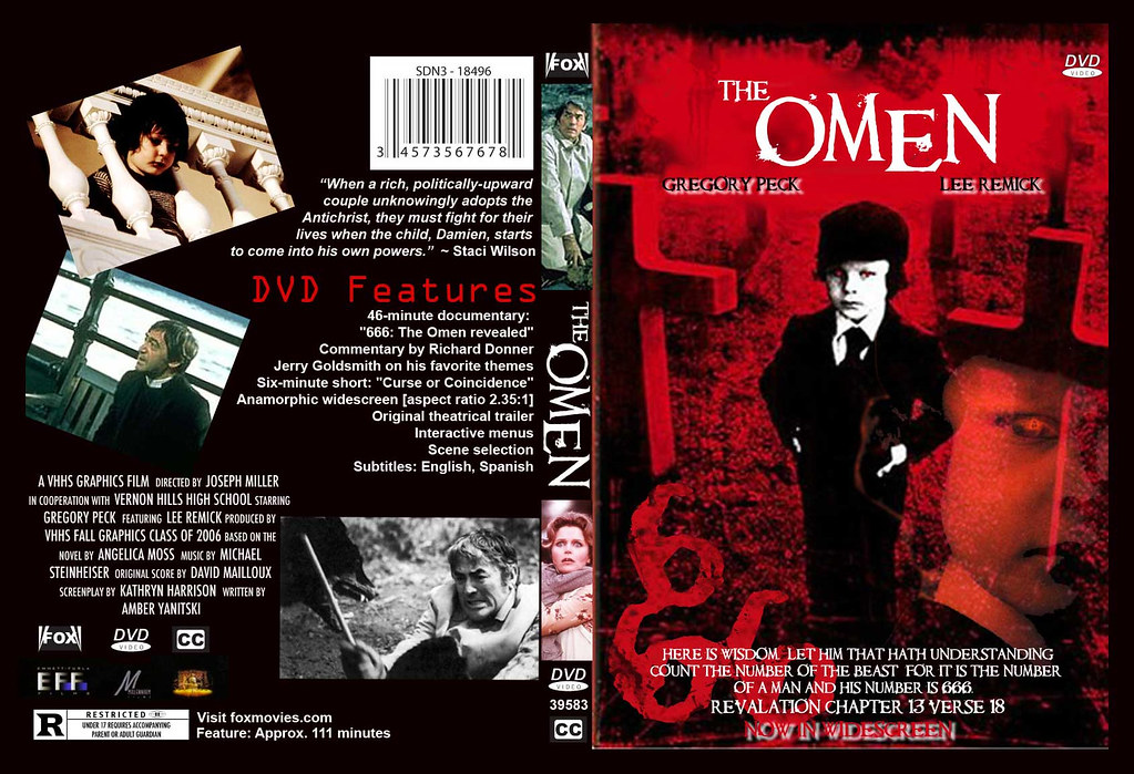 DVD cover for 'The Omen'