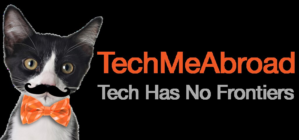 TechMeAbroad horizontal transparent logo