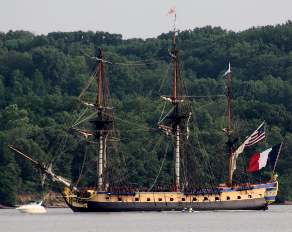 The Hermione in the Potomac
