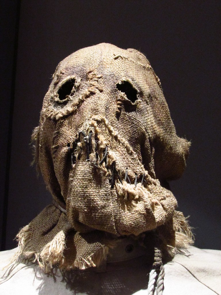The Scarecrow mask from The Batman Exhibition - Warner Bro ...