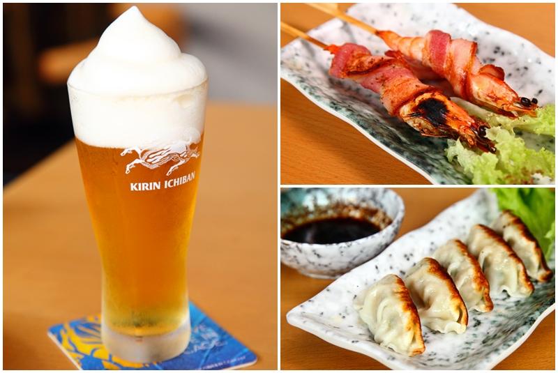 Beer Gyoza Prawn