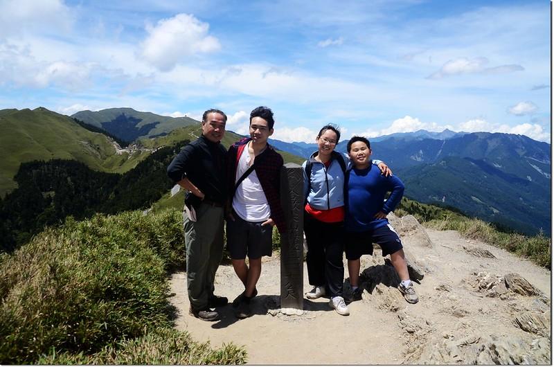 合歡尖山山頂 3
