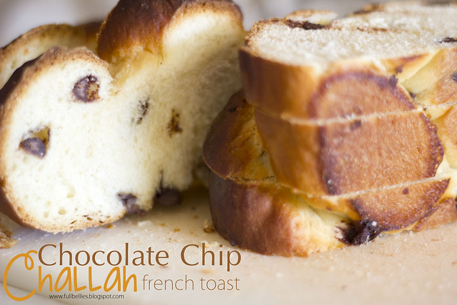 Chocolate Chip Challah French Toast