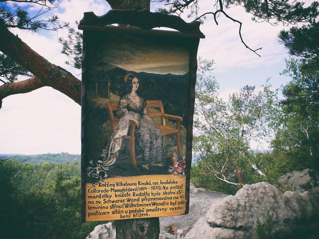 In der Dittersbacher Felsenwelt
