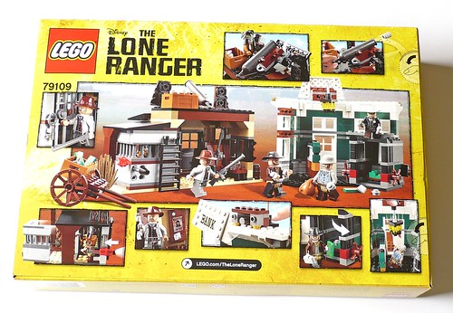 LEGO The Lone Ranger 79109 Colby City Showdown box02