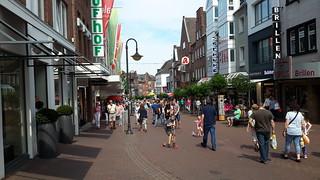winkelcentrum van Kleve