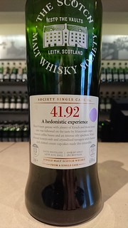 SMWS - 41.92 - A hedonistic experience