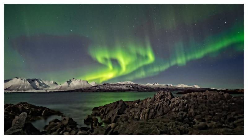 Aurora dansing-