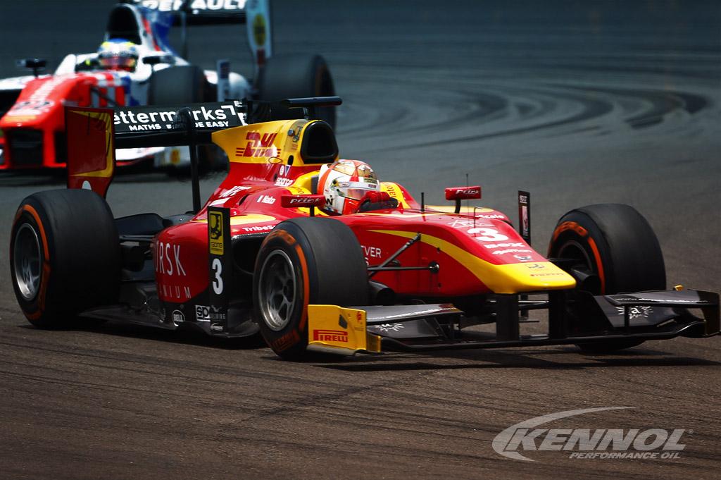 KENNOL 2016 GP2 Vice-World Champion with Racing Engineering.