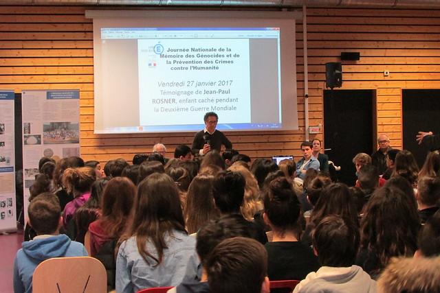 Le collège Hector Berlioz organise des actions pour appréhender la notion de génocide