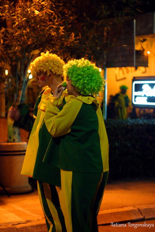 "Клоуны на фестивале ""Открытая улица"""