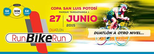 Segunda Edición del Duatlon RunBikeRun 2015