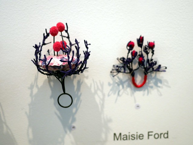 Glasgow School of Art - Jewellery Degree Show 2015 - 16 - Maisie Ford