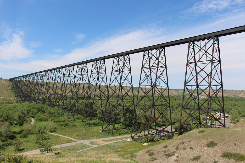 Lethbridge Viaduct Lethbridge Alberta Historic