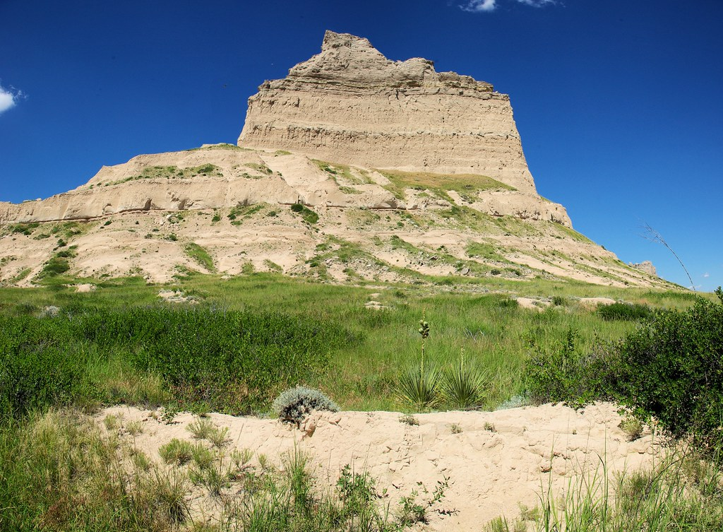 Eagle Rock at Scotts Bluff National Monument, July 9, 2010