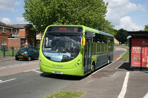 Arriva Southern Counties 4290 on Route 91, Goldsworth Park