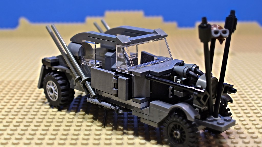 lego mad max fury road nux car lego nux car mad max fury r flickr. Black Bedroom Furniture Sets. Home Design Ideas