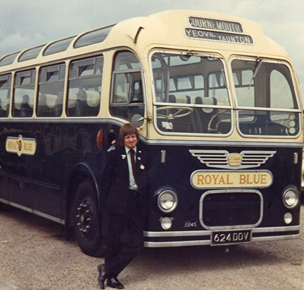 ... Fleet No.2245 at Bridgwater, Somerset, 1973   by