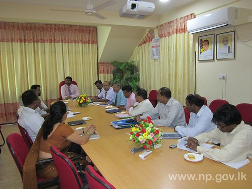 Mid-Term Review Mission for the IIDP visited to Northern Province