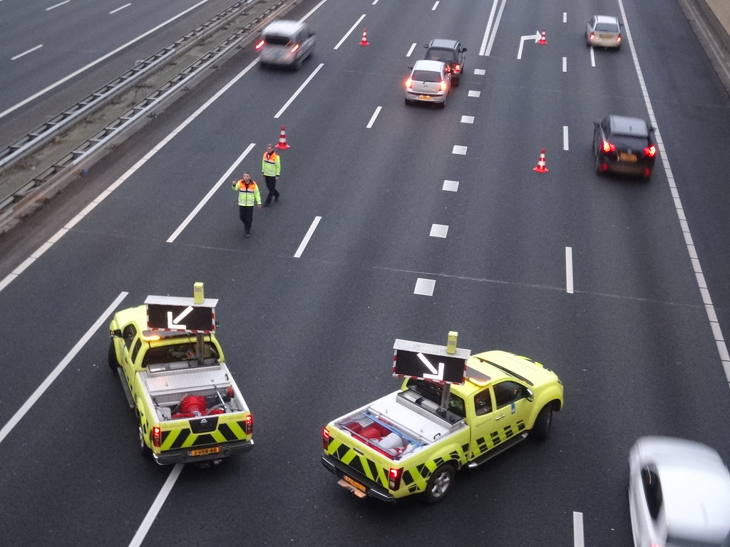 Motorway Collision Scene   A collision on the A12 near Waddi…   Flickr
