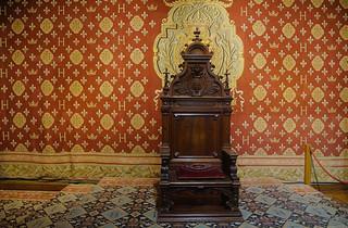 028 Kasteel Chambord binnen
