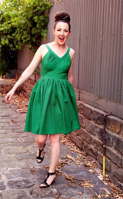 Vintage Green McCalls #3