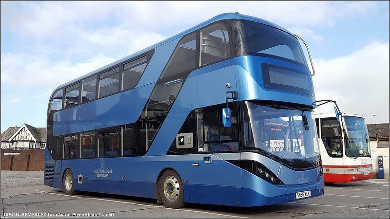 Alexander Dennis (Plymouth Citybus) SN66WLK