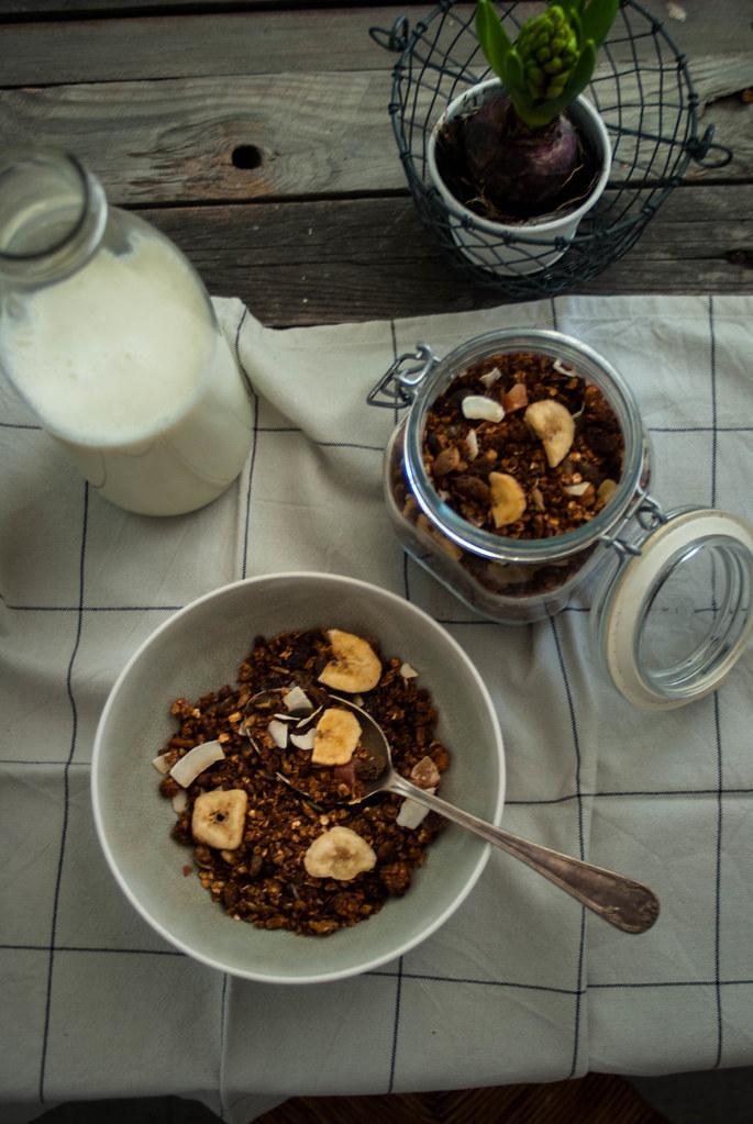 Granola de cacao
