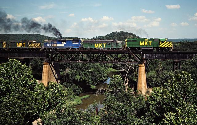 Missouri–Kansas–Texas Railroad by John F. Bjorklund