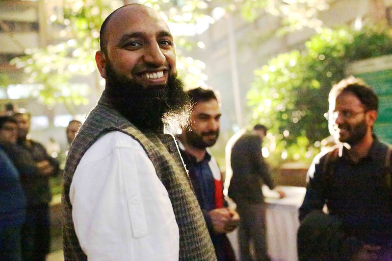 Netherfield Ball – The Invasion of the Bearded Men at Sanjay Kak's Book Launch, India Habitat Center