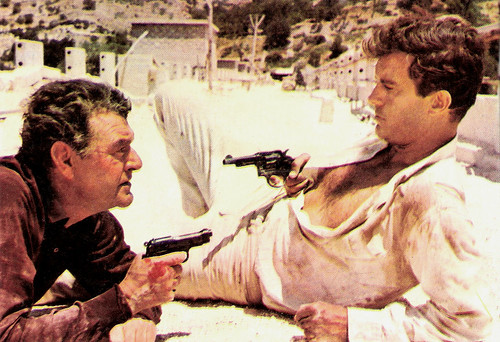 Jack Hawkins and Cliff Robertson in Masquerade (1965)