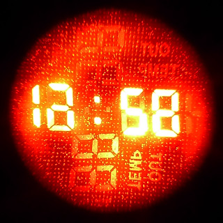 projection clock