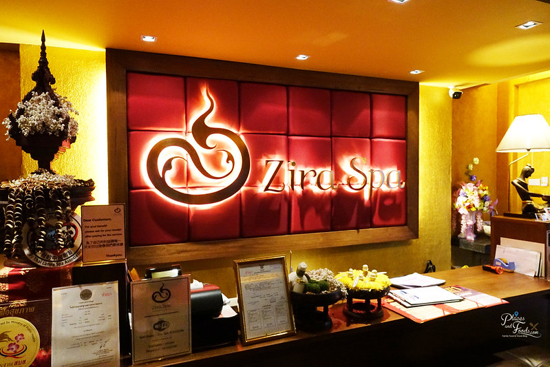 zira spa reception